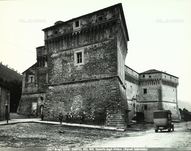 Castello Alidosi, Castel del Rio, Bologna