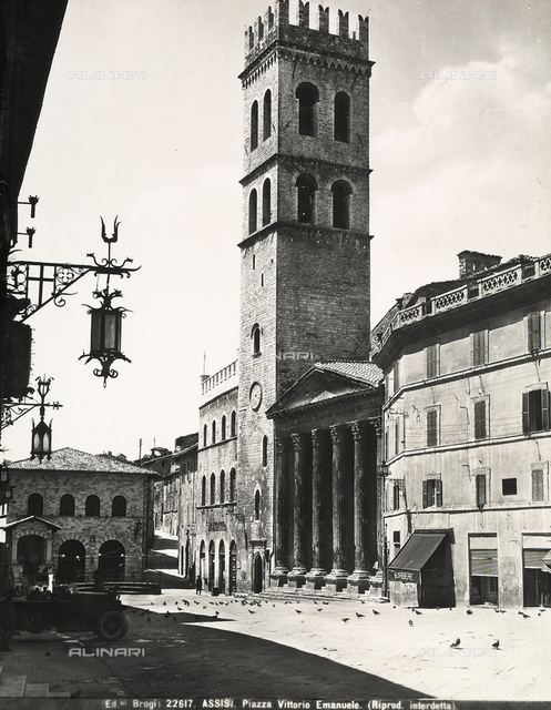 Tower del Popolo, Assisi