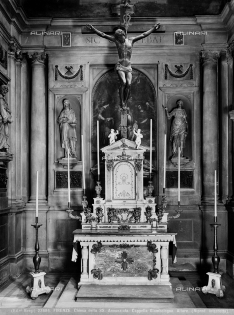Chapel of the Madonna del Soccorso, Church of SS. Annunziata in Florence