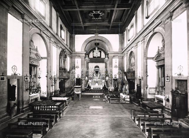 Nave, Church of Santa Maria in Gradi, Arezzo