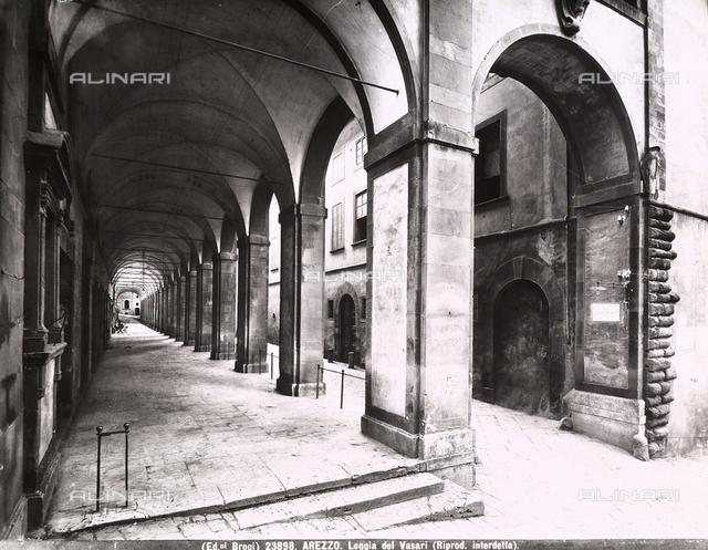 Portico, Palazzo delle Logge, Arezzo.