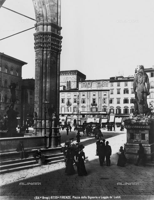 Piazza della Signoria and Loggia dei Lanzi, Florence