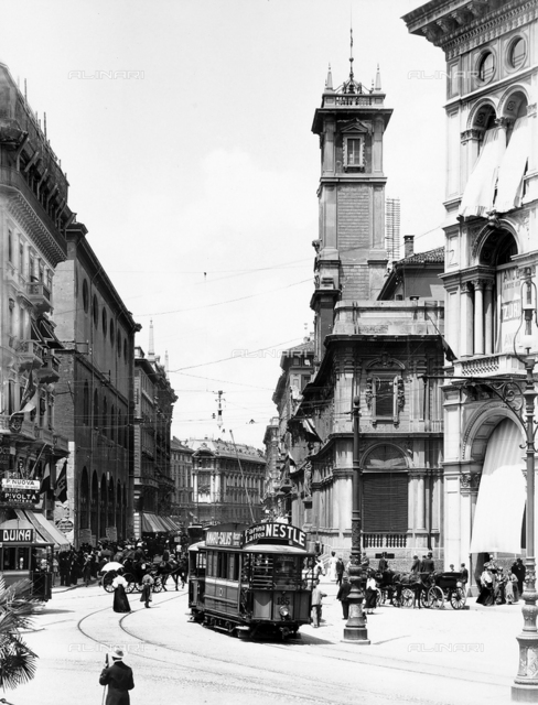 Merchants' Square in Milan