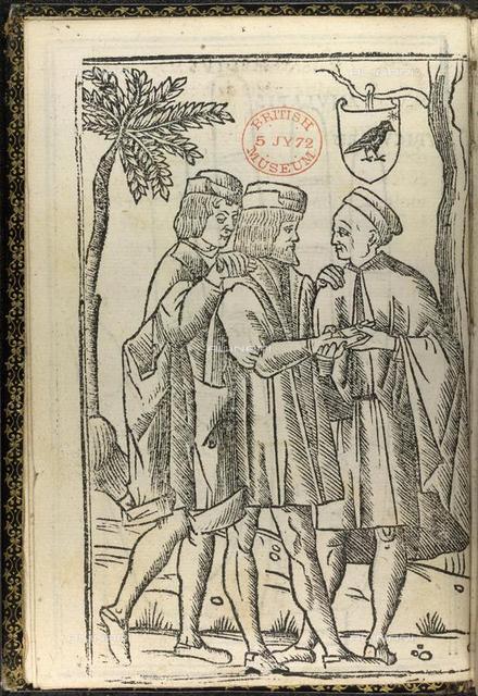 Palmistry, from 'Opera Noua de Maestro Andrea coruo da Carpi habita' (Venice, 1519), 1607/717, opposite AI, British Library, London