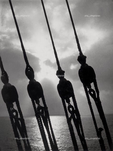 """Royal Naval Academy """"Amerigo Vespucci"""", detail"""