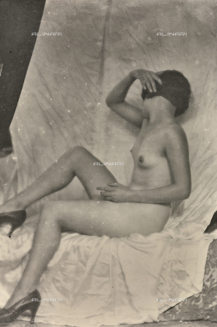 Nude female study