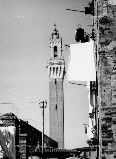 Torre del Mangia (Mangia Tower), Piazza del Campo, Siena