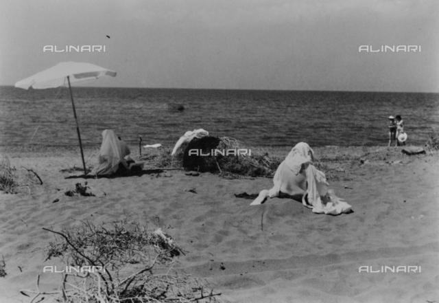 Nuns at the beach