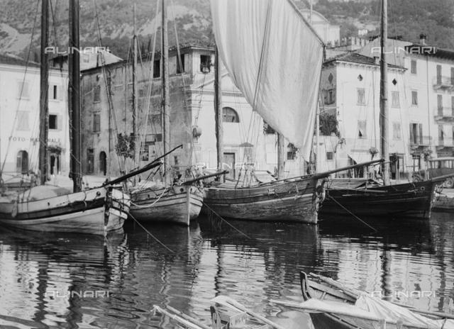 Boats on Lake Garda