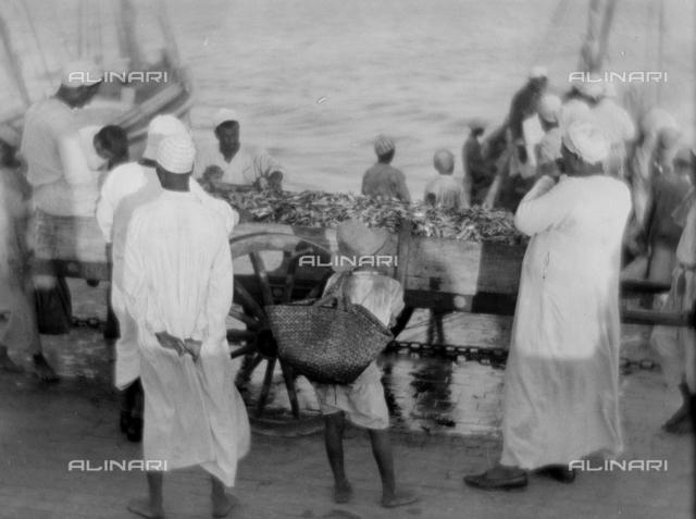 Fishermen, Egypt; Photo studio