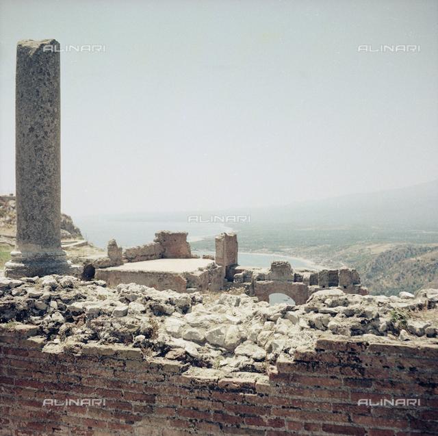 Ruins in Taormina