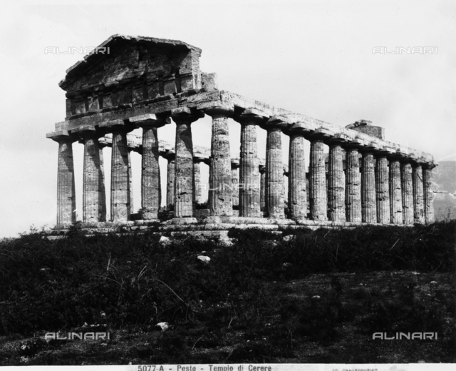 Temple of Ceres, Paestum