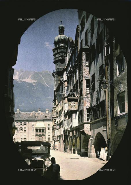 A street in Innsbruck, Austria
