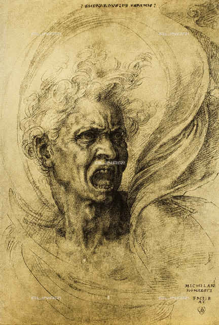 Fury, Gabinetto dei Disegni e delle Stampe, Uffizi Gallery, Florence