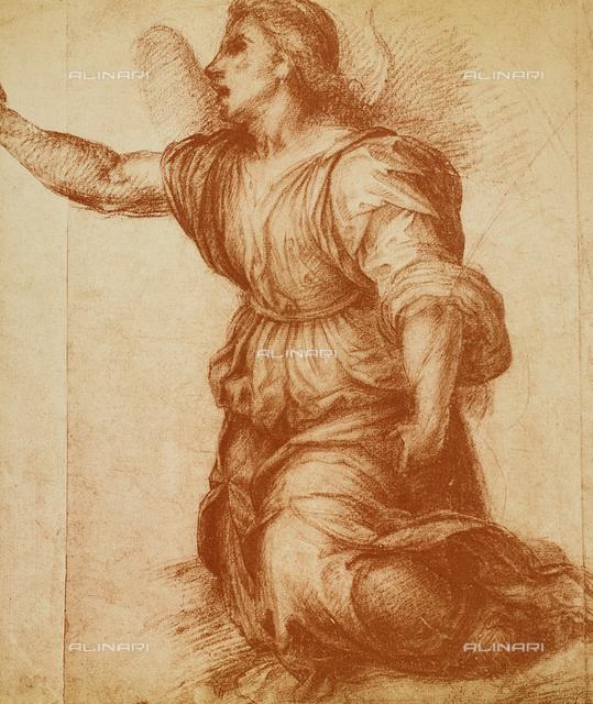 Angel, Gabinetto dei Disegni e delle Stampe, Uffizi Gallery, Florence