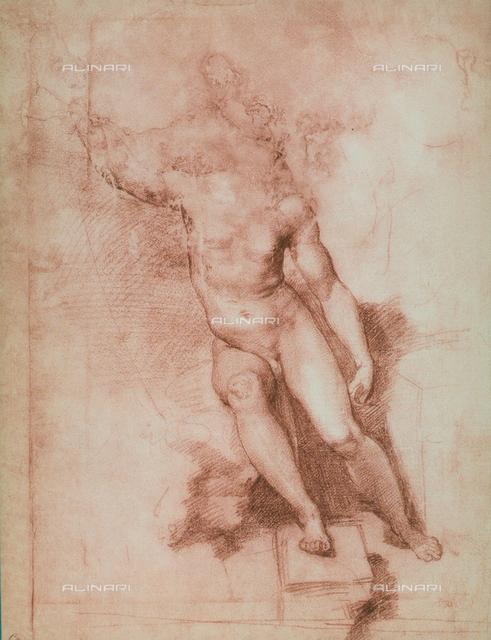 Study for a St. John the Baptist, Gabinetto dei Disegni e delle Stampe, Uffizi Gallery, Florence