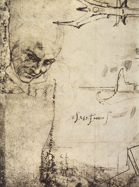 Studies of different figures, Gabinetto dei Disegni e delle Stampe, Uffizi Gallery, Florence