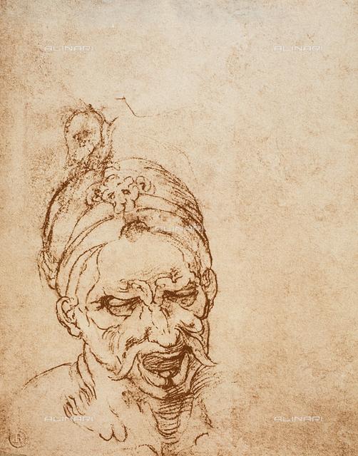 Study of a head, Casa Buonarroti, Florence