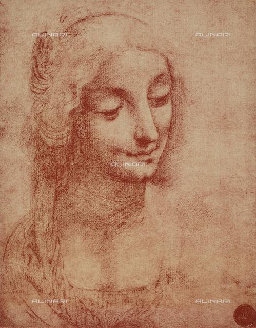 Woman's face, Gallerie dell'Accademia, Venice