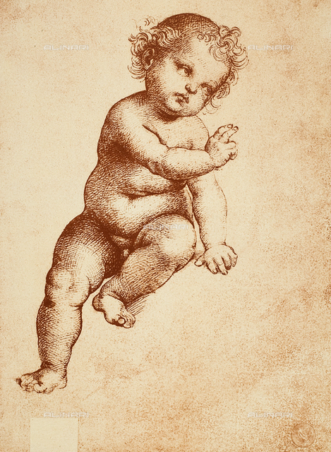The Christ Child, Raphael, Gallerie dell'Accademia, Venice