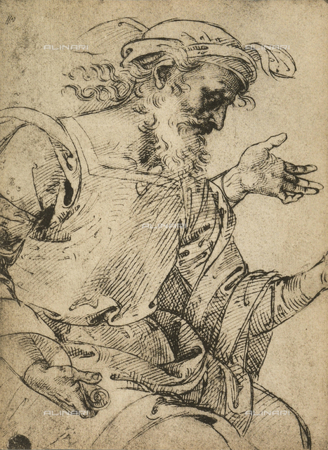 The prophet Ezekiel, Gallerie dell'Accademia, Venice