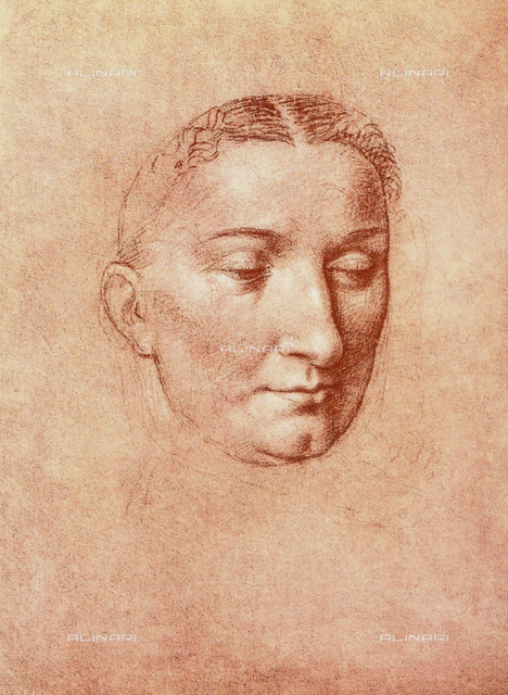 Head of a saint (female), Gallerie dell'Accademia, Venice