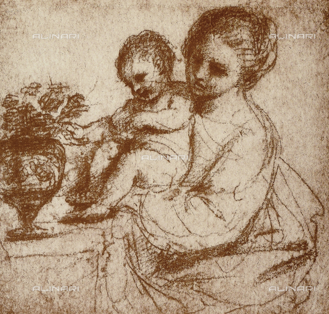 Study for a Madonna and Child, Gallerie dell'Accademia, Venice