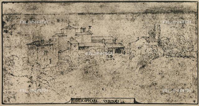 Village view, Graphische Sammlung, Albertina, Vienna