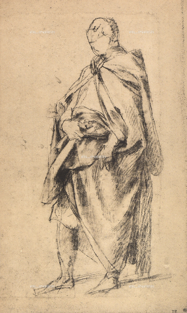 Study of a male figure, Andrea del Sarto, The Louvre, Paris