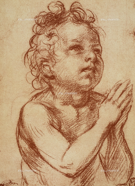 Small boy praying, Andrea del Sarto, The Louvre, Paris
