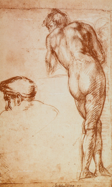 Nude study, British Museum, London