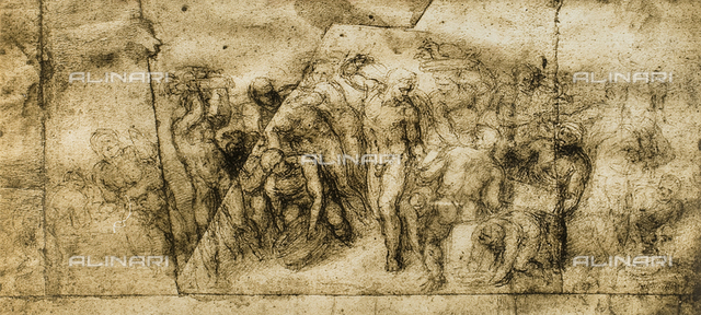 Drawing by Michelangelo, British Museum, London