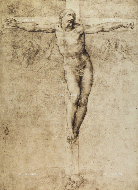 Study for a crucifixion, British Museum, London