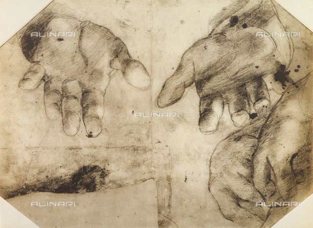 Study of hands, British Museum, London