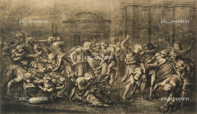 Massacre of the Innocents, School of Raphael, British Museum, London