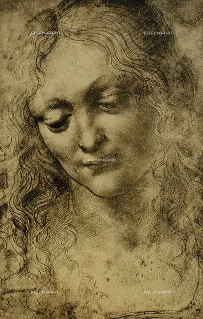Female portrait, drawing by Leonardo da Vinci, British Museum, London
