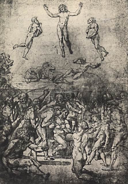 Study for the Transfiguration of Christ, Graphische Sammlung, Albertina, Vienna