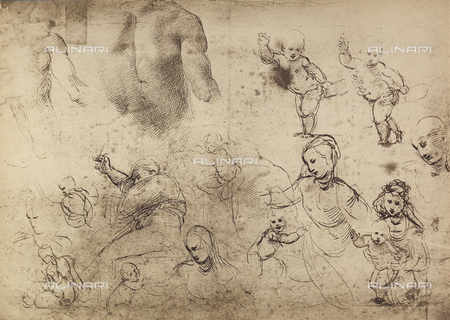 Madonnas and Children, Graphische Sammlung, Albertina, Vienna