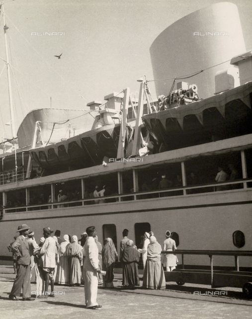 The Victoria ship in Bombay