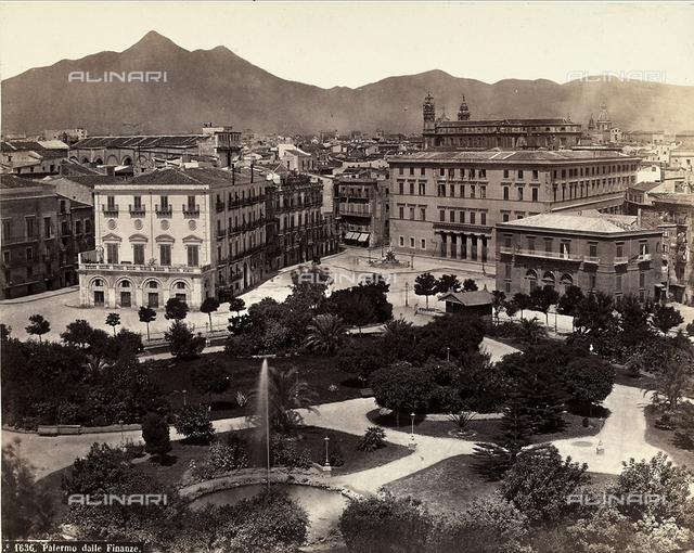 View of Palermo from Palazzo delle Finanze