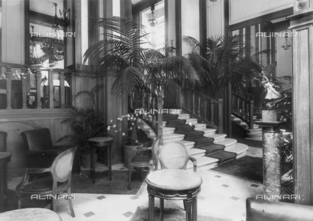 Caffè Umberto I in Naples, foyer
