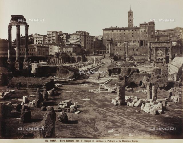Basilica Julia, Roman Forum, Rome