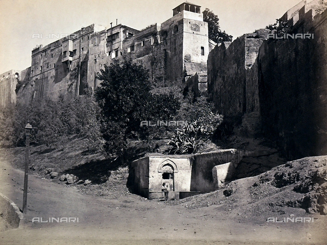 Arab quarter in Algiers