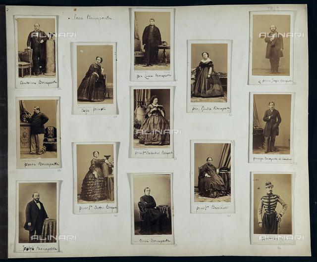 Portraits of the Bonaparte family