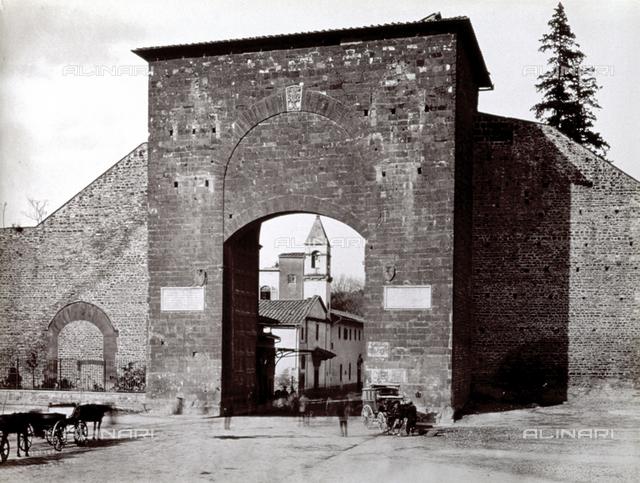 The Porta Romana, Florence