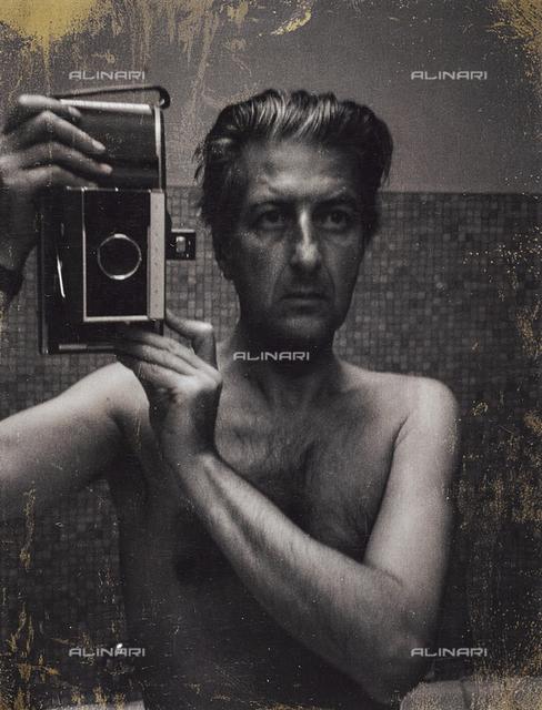 Self-portrait of the photographer Fabrizio Clerici