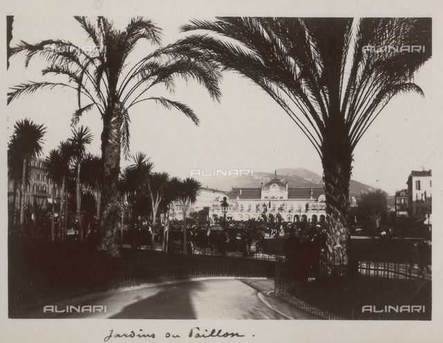 The gardens of the Casino in Nice