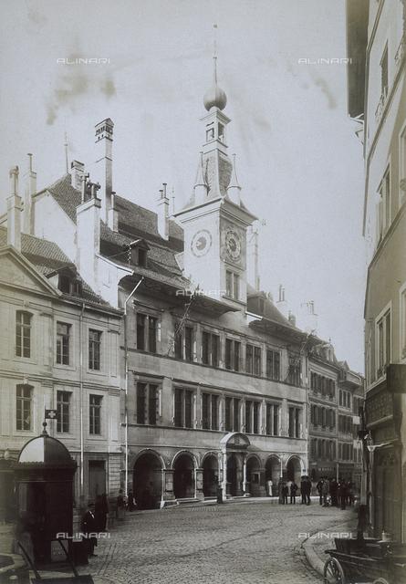 The Hotel de Ville in Lausanne