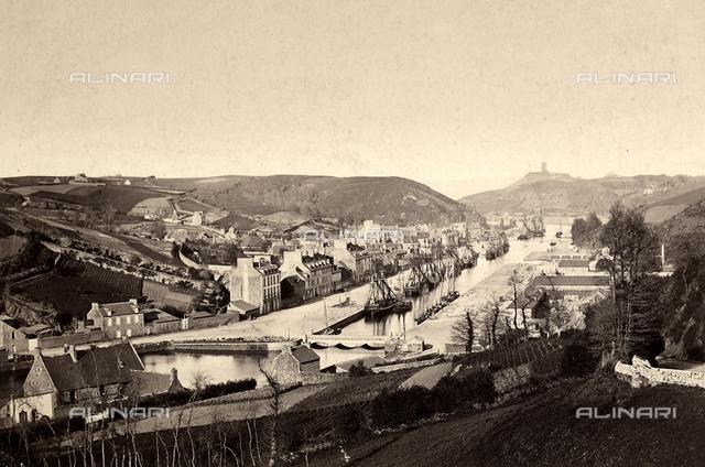 View of Saint-Brieuc