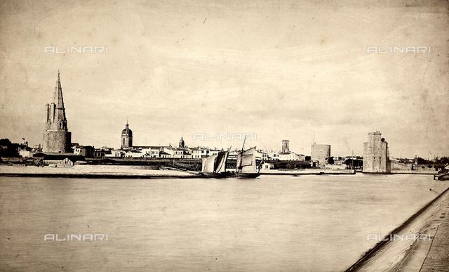 View of the Port de La Rochelle, France